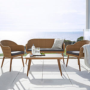 accessories for a garden furniture Set scandi lounge set NHEYIEE