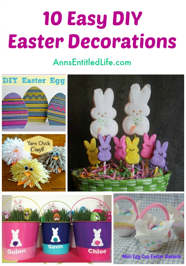 cheap easy easter decorations 10 easy diy easter decorations. looking for easy easter decor that you SPHYEHU
