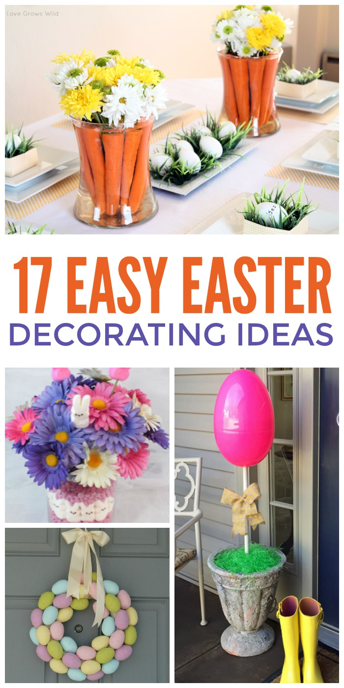 cheap easy easter decorations 17 easiest ever easter decorating ideas RTHXRGI