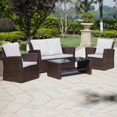 cheap garden furniture sets rattan garden sofa sets XCEFPZL