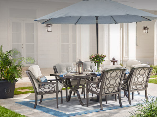 Cheap patio furniture patio dining sets UOIBITQ