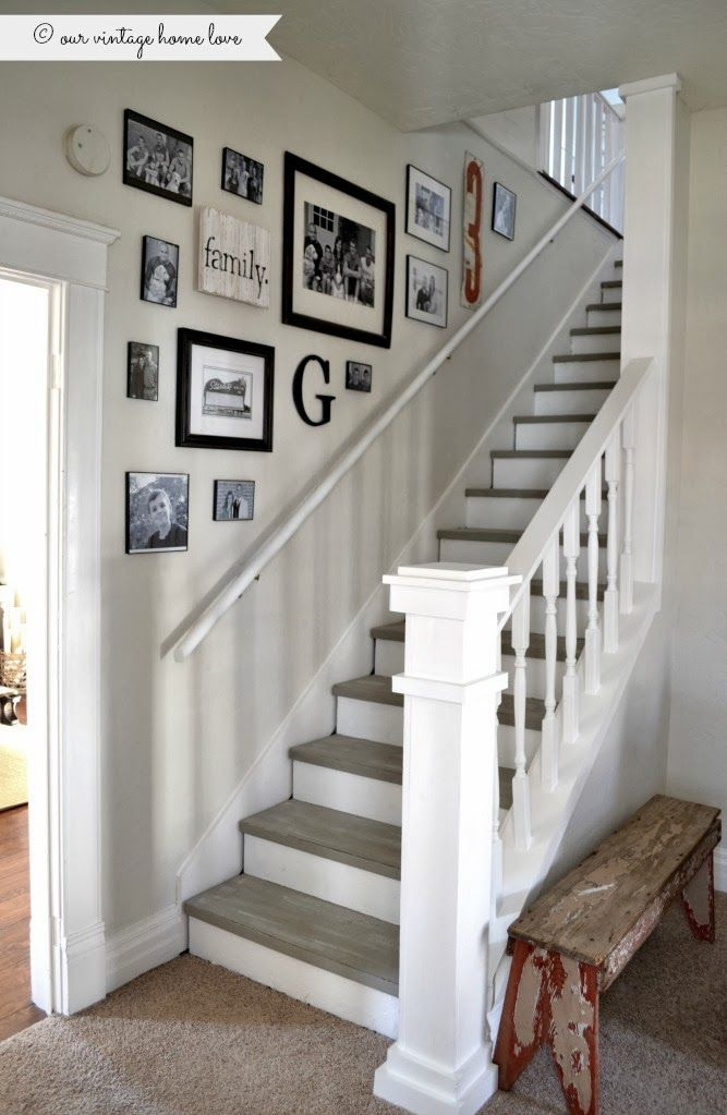 decorate stairs ideas stairway renovation | new home | pinterest | stairways, chalk paint and QQAPJOJ