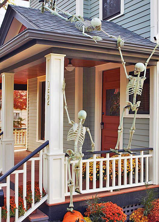 decorating ideas for halloween front porch front porch halloween decorating ideas - diy projects, tutorials and ideas! NCNYQEE