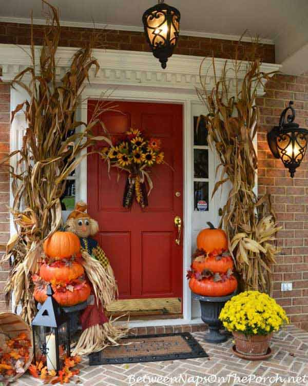 decorating ideas for halloween front porch halloween-porch-ideas-1 MXJBQMJ
