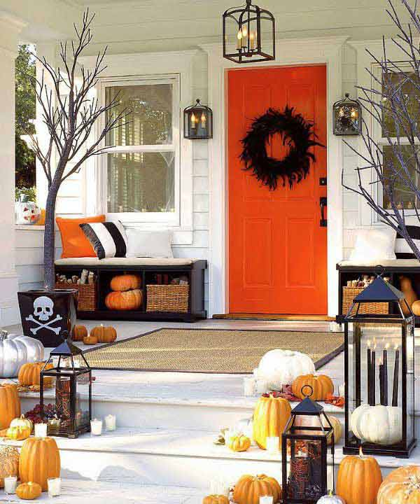 decorating ideas for halloween front porch halloween-porch-ideas-29 CYSILRZ