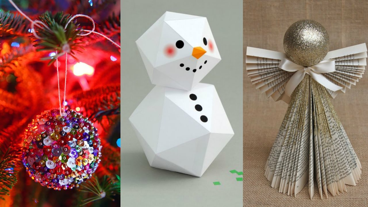 DIY ideas for christmas decorations