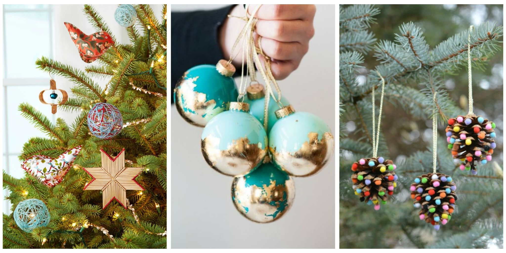 diy ideas for christmas decorations skip the store-bought decor, and get crafty this holiday season with these KHEFUGO