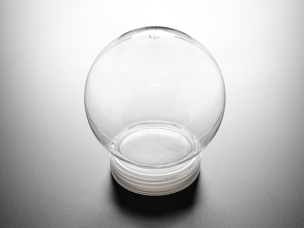 diy snow globe kit - 108mm diameter UROKDLI