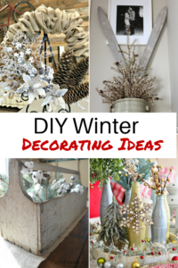 diy winter decorating ideas | diva of diy LHVMZNP