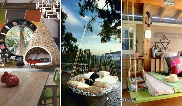 Floating Bed for garden 19 cozy outdoor hanging beds to help you enjoy the summer nights ZJDBYGV