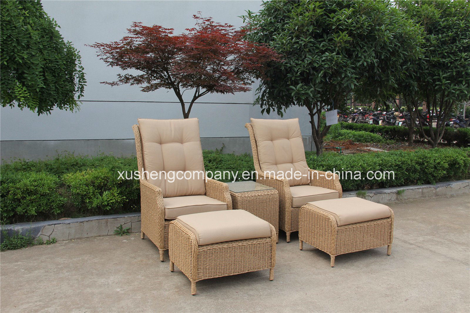 Garden furniture made of poly rattan garden rattan furniture poly rattan sofa set LZTZBHV