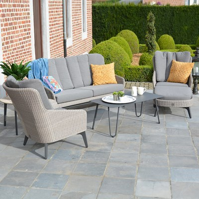 Garden Lounge Furniture grey-all-weather-outdoor-garden-lounge-set.jpg ... QVWNTOR