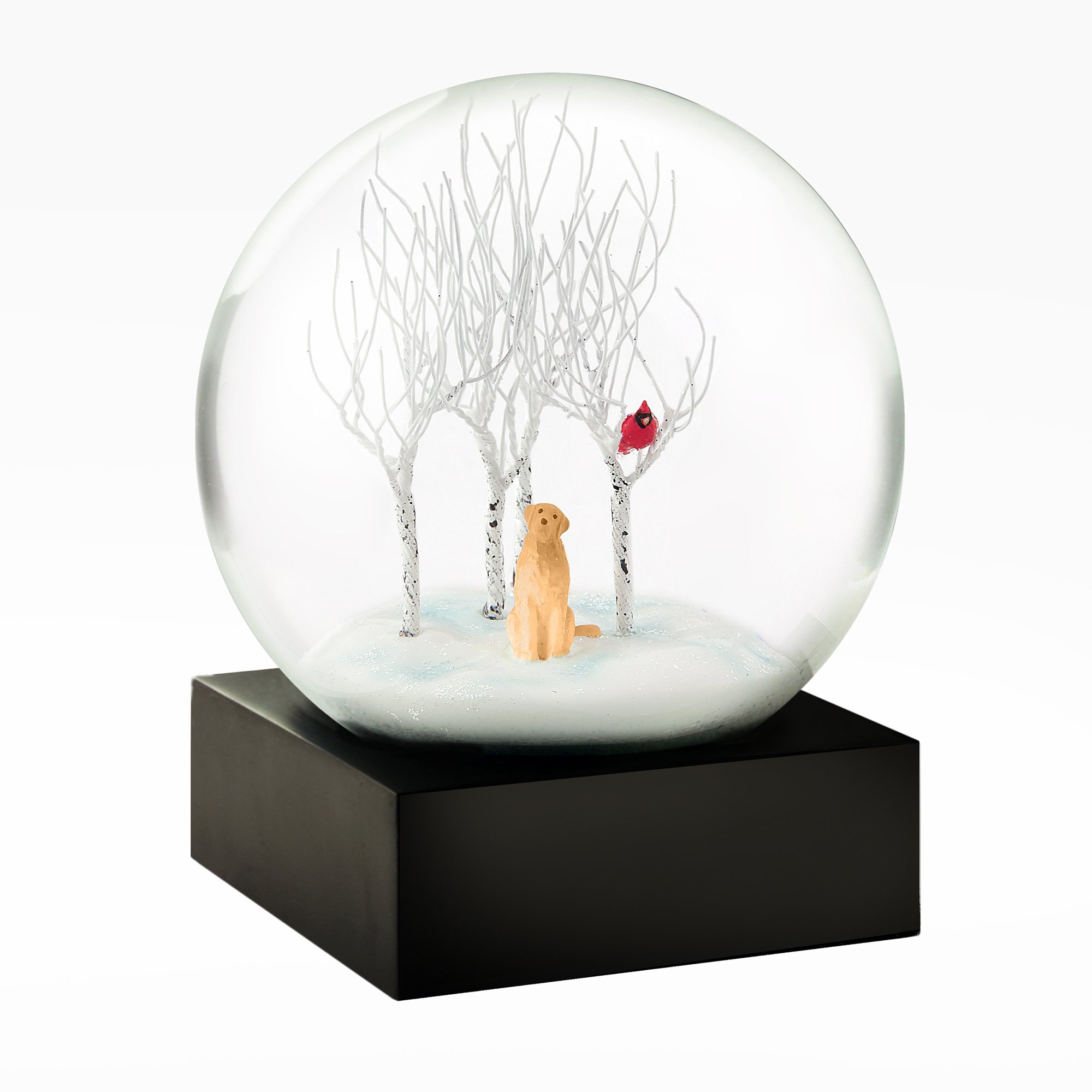 lab in the woods snow globe globe ZVIAKGV