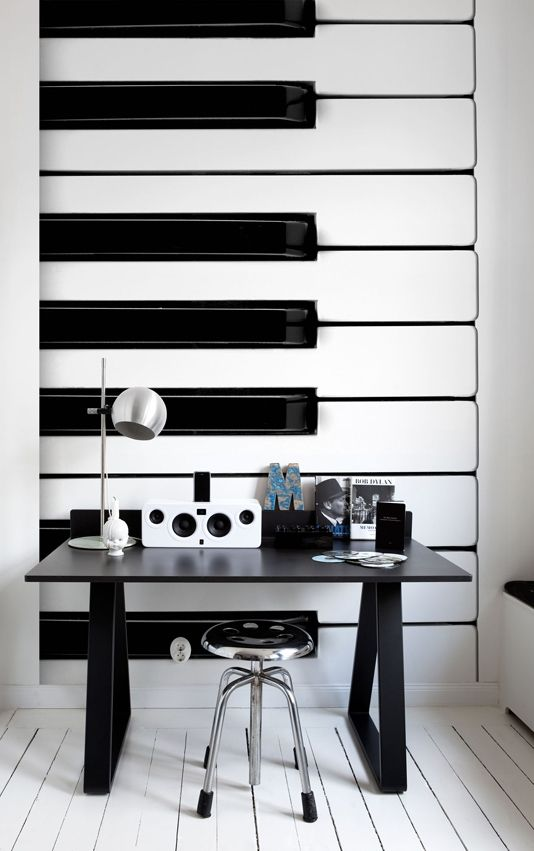 panel shelves for musical decoration sound objects wall panel piano keys wall hanging. can be made in FVFWGRU