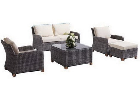 polyrattan Lounge Seating group sigma indoor outdoor furniture synthetic rattan set home living room sofas JVZPKEJ