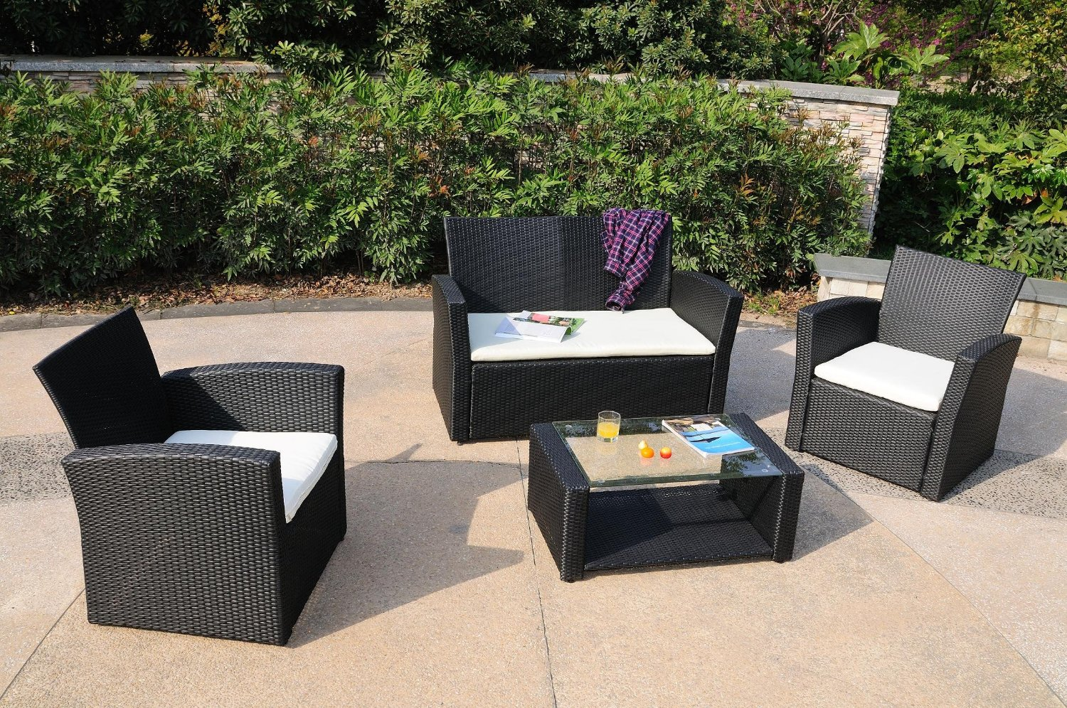 Rattan Garden Furniture Set engaging resin wicker outdoor furniture 21 patio table set modern DMWFJME