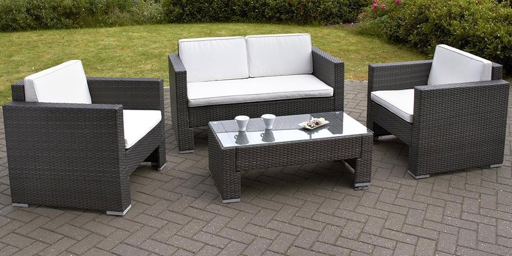 Rattan Garden Furniture Set rattan garden sofa sets for classy garden - carehomedecor UAYMHMX