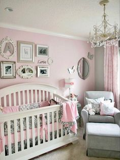 Baby girl room design ideas 32 baby girl nursery designs popular on pinterest INURWTR