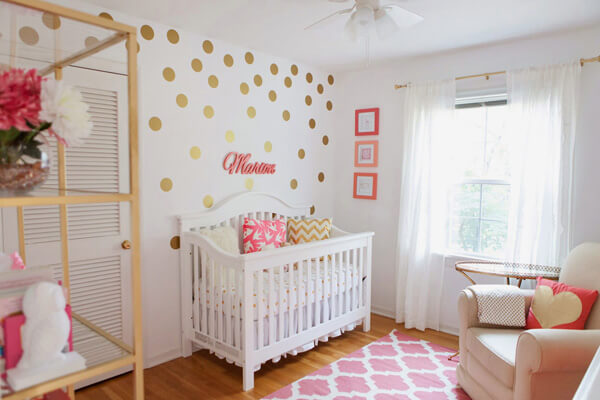 Baby girl room design ideas baby girl room idea - shutterfly GPVJTRH