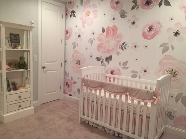 Baby girl room design ideas baby girl room idea - shutterfly SFZVBHA
