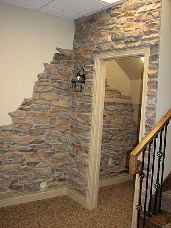 Concrete wall ideas cool basement wall GZDJQEI