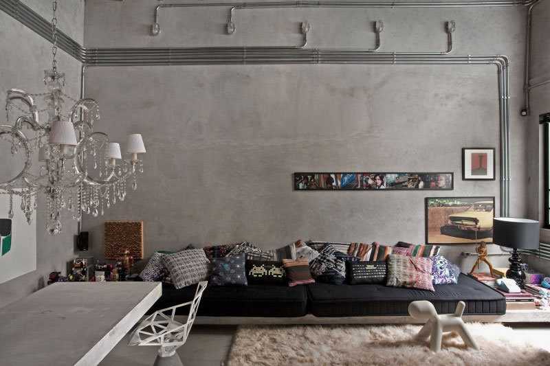 Concrete wall ideas exposed concrete wall ideas. cement wall 1 VQSYAHM