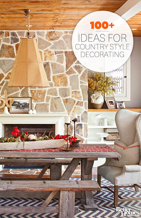 Country style decorating country decorating ideas YGNHCAW