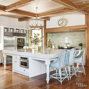 Country style decorating country kitchen QMXUDUL