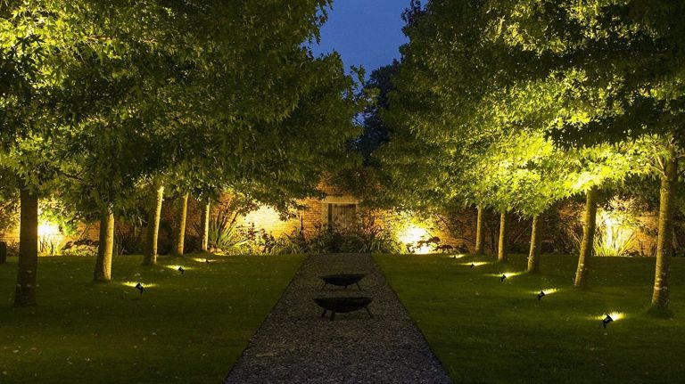 Garden Lights by aimee bradshaw may 24, 2018. garden lighting ... LDCYNQD