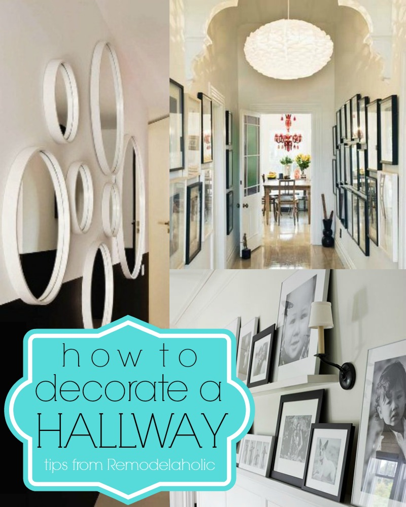 hallway decorating ideas 15 ways to decorate a hallway | remodelaholic.com #hallway #decorating #tips BALROJR