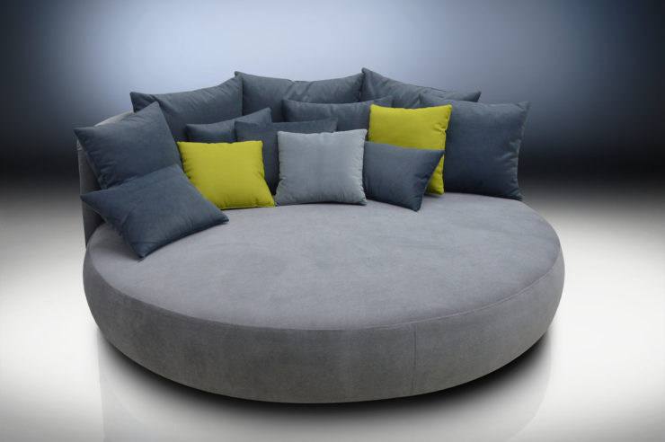 Round Sofa – Great ideas for designing a cozy sitting area