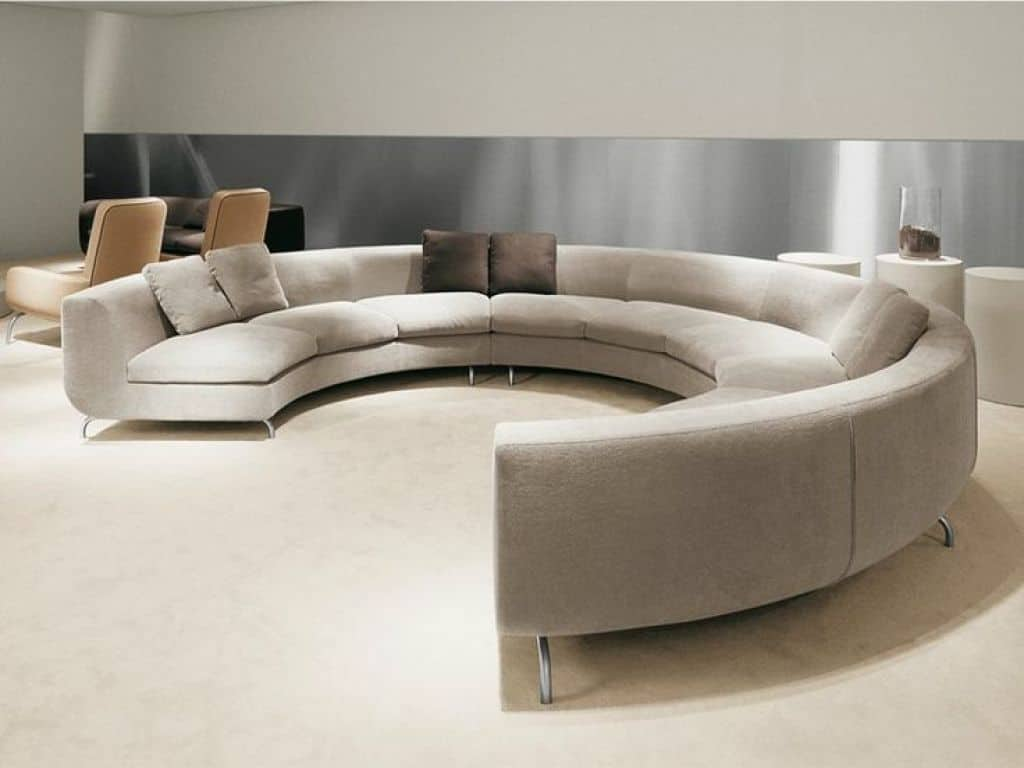 Round sofa modern full round sofa furniture GPHXXHU