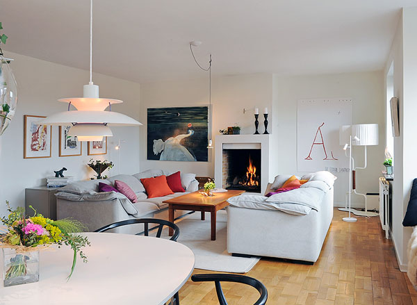 Scandinavian design living room ... view in gallery ... VLLUOEG
