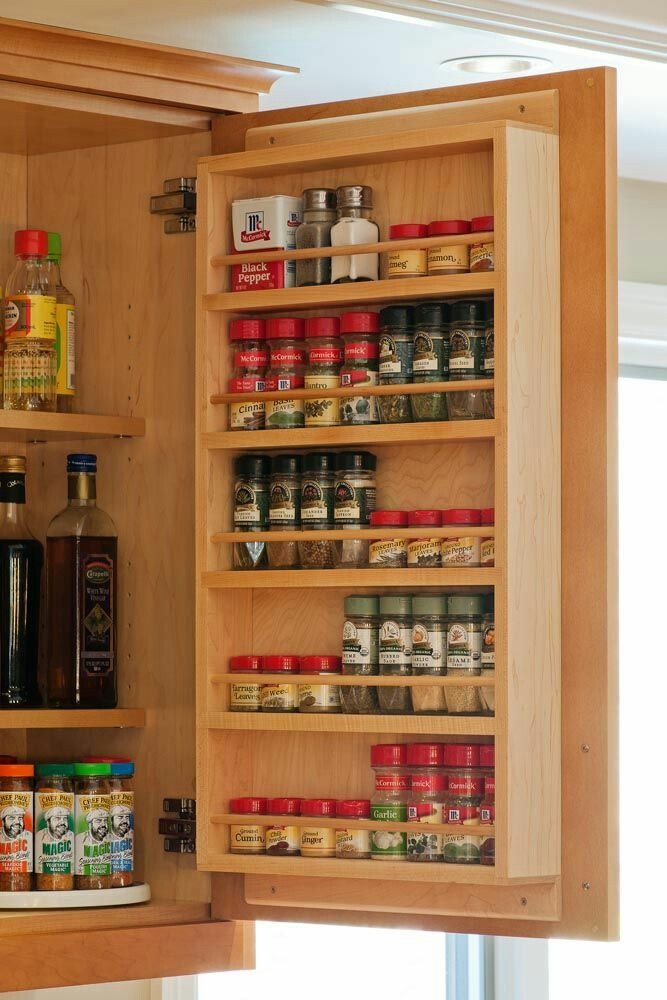 spice storage a spice rack on the door would be nice storage for spices, kitchen ideas for OVHKPUT