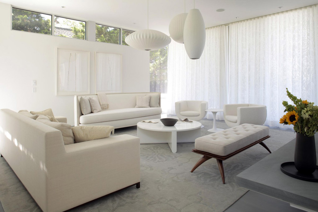 white living room furniture - the ideal versatile choice UAUVHBQ