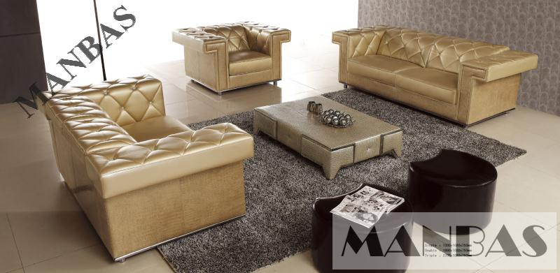 Modern industrial design, multi function leather sofa, factory