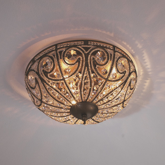Antique ceiling lights for a charming atmosphere