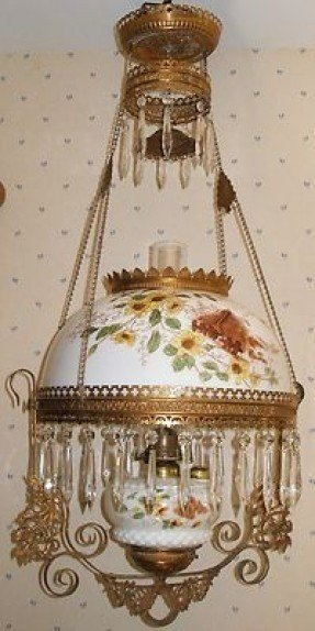 Antique Hanging Oil Lamps - Ideas on Foter