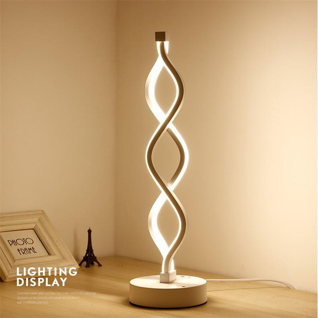 Nordic Creative Table Lamps Art Deco Led Desk Lamp Minimalism Modern
