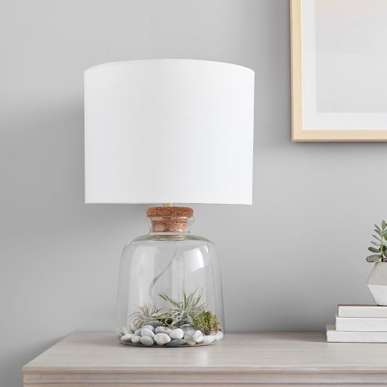 Bottle-It Bedside Lamp + Shade | PBteen