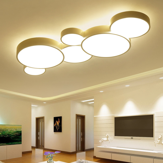 LED Ceiling Light Modern Panel Lamp Lighting Fixture Living Room