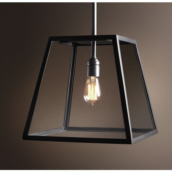 Modern Filament Pendant ($595) ❤ liked on Polyvore featuring home