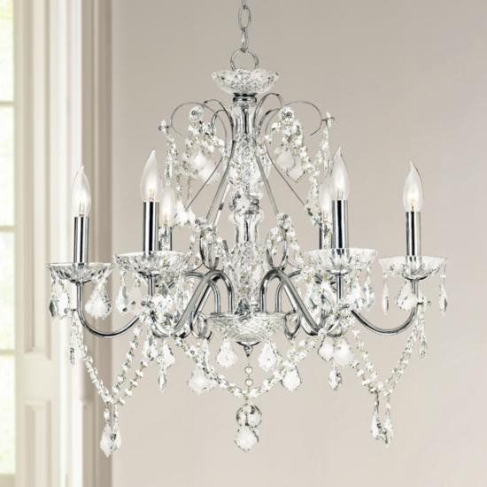 A Guide to Crystal Chandelier Glass - Ideas & Advice | Lamps Plus