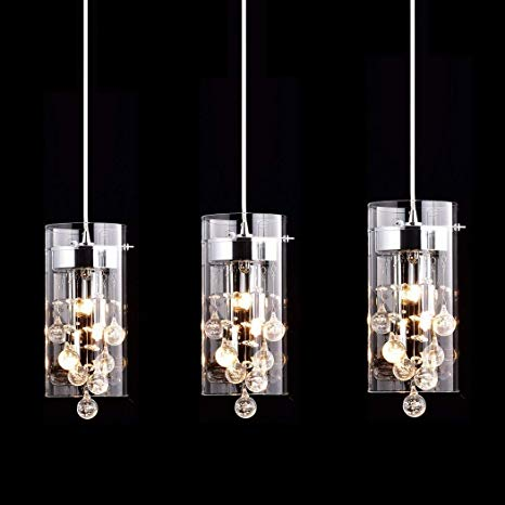 CLAXY Ecopower Lighting Glass & Crystal Pendant Lighting Modern