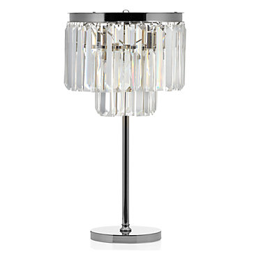 Crystal Table Lamp | Luxe Lighting Collection | Z Gallerie