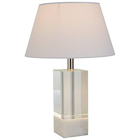 Stone & Beam Modern Crystal Table Lamp, 18