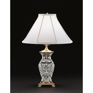 Brass Crystal Table Lamps You'll Love | Wayfair