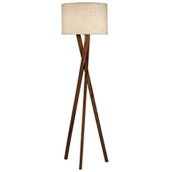 Adesso 3227-15 Brooklyn Contemporary Floor Tripod Lamp, 63 in. Decor