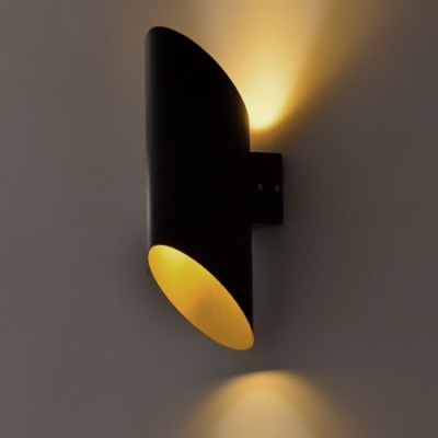 Aluminum Pipe Designer Wall Light Is Great For Restaurant, 15.7u201dHigh