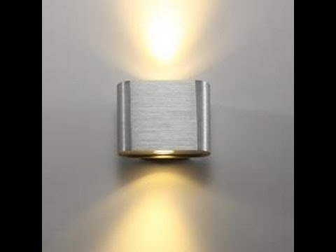 Interior LED Wall Lights - Contemporary Modern Designs - YouTube